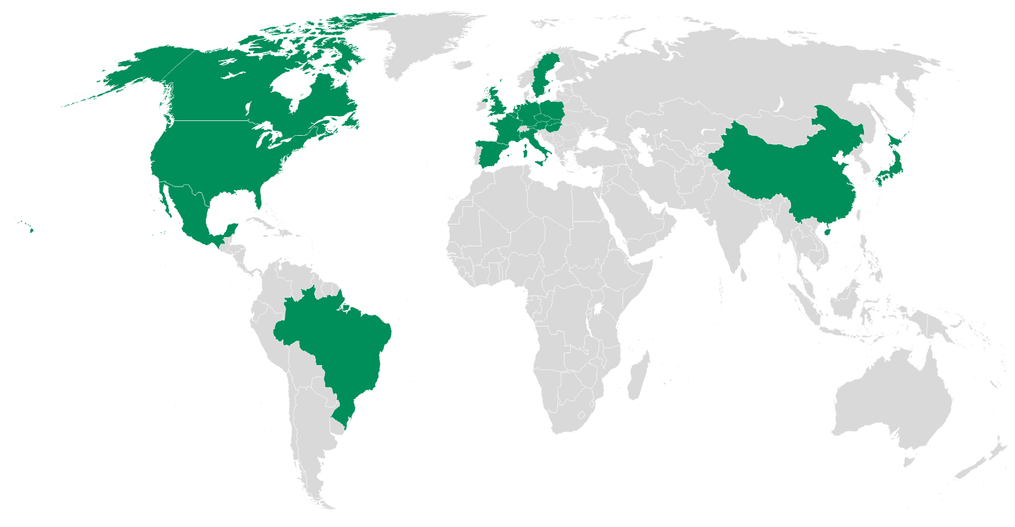 Prologis World Map