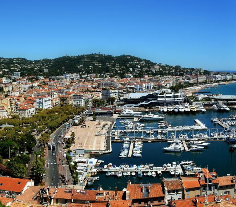 Bay of Cannes, France
