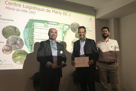 "Prologis Awarded BiodiverCity®  Label ""Excellent"""