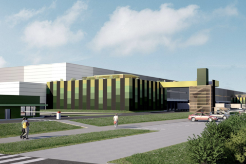Prologis Build-to-Suit Facility at Moissy 2 Les Chevrons